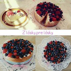 Doux bonheur: Cheesecake s ovocím