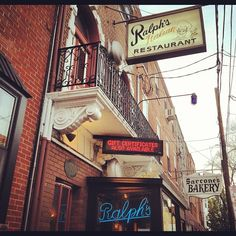 Ralph's in South Philly. Featured on Lidia's for authentic Italian and great breads.