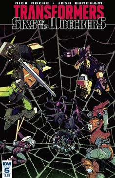 Comic Book Preview - Sins of The Wreckers #5 - Final Issue