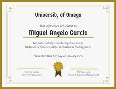 Student Certificate Template  Certificate Templates