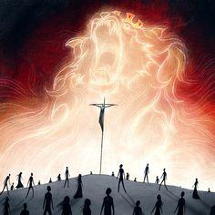 Jesus Our Savior, Jesus Is Life, God Jesus, Image Jesus, Jesus Christ Images, Art Prophétique, Jesus Christus, Prophetic Art, Biblical Art
