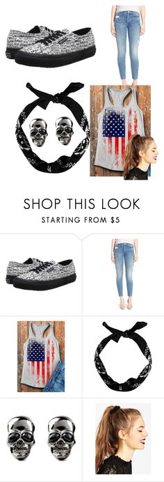 """""""Graffiti outfit"""" by niasantos ❤ liked on Polyvore featuring Superga, Mother, New Look and ASOS"""