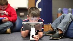 iPads in the Classroom how they are being used in a first grade class