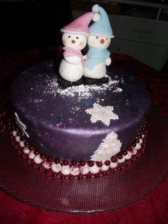 Snowloves  By Sugarcha CakesDecorcom Cake Decorating Website cakepins.com
