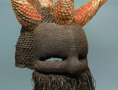 Gallery of a Salampasu Mask - Mufuampo Masque