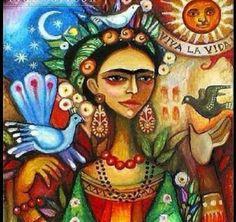 De nada sirve que la imaginacion tenga alas si el corazón es una jaula  Frida Khalo