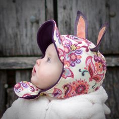 ear hat baby in hat winter hat with ears
