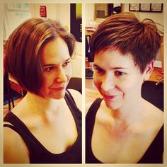 Big changes today!! #pixie #babybangs by brieannew http://ift.tt/1q5szsr