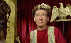 Kenneth Williams as Julius Caesar. Infamy, infamy, they've all got it in for me! Carry on Cleo 1964 Cult Movies, Comedy Movies, Films, Carry On Cleo, Kenneth Williams, Classic Comedies, One Liner, My Darling, Good Movies