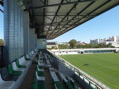 Imágenes de la ciudad deportiva del Real Betis Balompié finalizadas Baseball Field, Buildings, Public, Bar, Sport, Cities, Sports, Architecture, Interiors