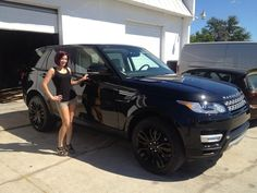 2014 range rover sport with custom painted wheels and calipers. Just another awesome day at our shop!