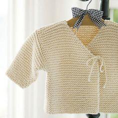 Easy Baby Knitting Pattern - Tangled Yarn UK