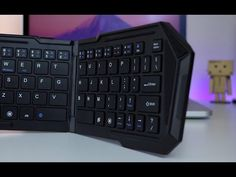Cooper Cases Folding Bluetooth Keyboard Review! - YouTube