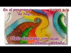 PLATO CON ESTAÑO Y LACA VITRAL Parte 3/3 - YouTube White Out Tape, Mandala, Cds, Decoupage, Coffee Mugs, Glasses, Youtube, Tin, Dishes