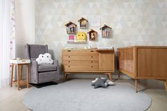 Trendy home bedroom girl curtains 54 Ideas Baby Bedroom, Baby Boy Rooms, Little Girl Rooms, Home Bedroom, Girls Bedroom, Girl Curtains, Bedroom Curtains, Best Changing Table, Retro Baby