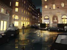 city street [by Matthieu Forichon]