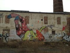 Mural art in Prague - ETAM Crew