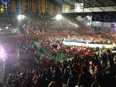 Stand-up Festival 2013 -- Hall Basket Senayan ..  One of sweetest moment in my Stand-up Comedy Career :')