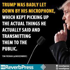 Funniest Political Memes of 2016 (So Far): Trump's Debate Microphone