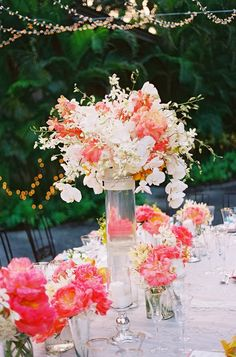 The Best Wedding Centerpieces of 2013 | bellethemagazine.com ...what a gorgeous palette! AFlowerStory