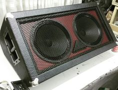 Two speaker's custom speaker made by Chronox