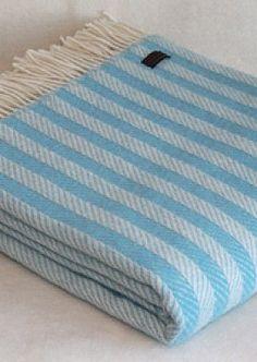 Tweedmill New Purple sage Mix Illusion Wool Blanket | Coast & Country Interiors