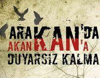 ARAKAN SOCİAL POSTER DENİZFENERİ by süleyman karaçeşme, via Behance