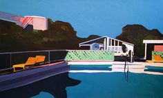 It's Nice That : Painter Jessica Brilli breathes life into dream-like Hollywood landscapes
