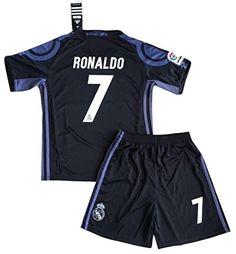 ronaldo kidsyouth real madrid champions league away jersey jersey  shorts  socks  adidas real madrid cf youth soccer