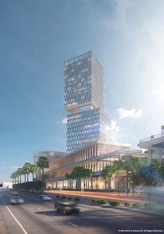 SHoP Breaks Ground on Mixed-Use Development in Tijuana,Courtesy of SHoP Architects