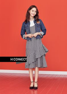 YoonA Shows Her Impeccable Style with 'H:Connect' Snsd Fashion, Korean Fashion, Fashion Models, Girl Fashion, Fashion Outfits, Yuri, Girl's Generation, Ugly Outfits, Yoona Snsd