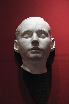 Death mask of Leland Stanford, Jr. (1884)