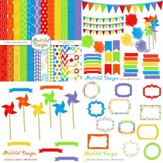 Little #Artist #scrapbooking #Kit by @prettdesigns | Download here http://www.luvly.co/users/PrettifulDesigns