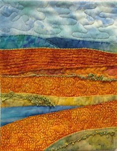 quilted landscapes - Google Search