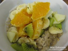 ...Miss Golosinas...: Over Night Oats...schnell...gesund...lecker