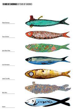 10 years of sardines - Lisbon June Festivities. -  Concurso Sardinhas Festas de Lisboa:
