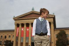 https://flic.kr/p/moj3KV | Oliver + S Art Museum Vest | And Purl Bee Little Boy's Tie  sweetkmblogs.blogspot.com/2014/03/the-oliver-s-art-museum...
