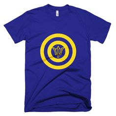 Captain Barbados - Short sleeve men's t-shirt – Properttees