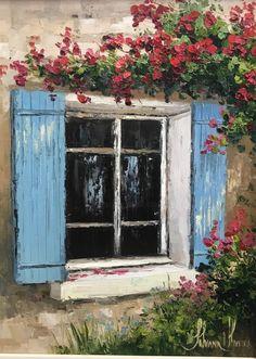 Acrylic Art, Acrylic Painting Canvas, Folk Art Flowers, Small Canvas Art, Canvas Art Prints, Impressionism Art, Painting Inspiration, Amazing Art, Watercolor Art