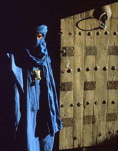 Tuareg Door by deepchi1, via Flickr