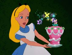 Alice in Wonderland. Now blow the candles out my dear and make your wish come true!
