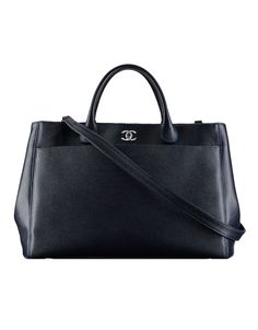 Large grained calfskin shopping... - CHANEL