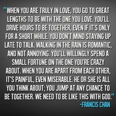 This is love when someone loves you this way and feels this way about you no matter what!