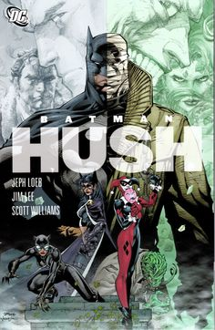 Batman: The Complete Hush - Jeph Loeb, Jim Lee & Scott.: Batman: The Complete Hush - Jeph Loeb, Jim Lee & Scott Williams… Batman Hush, I Am Batman, Batman Begins, Batman Robin, Superman, Batman Book, Comic Book Covers, Comic Books Art, Comic Art