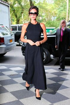 The Striking Transformation of Victoria Beckham s Little Black Dress 0a7f79256