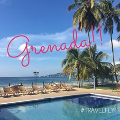 GREENZ!! We made it to #SpiceIsland aka Grenada aka a #travelfly foodie's dream locale to take a little break from reality! We'll be posting our adventure via IG Stories all week come see  with the crew! Travel Well #TravelFly!
