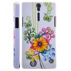 Custodia Sony Xperia S - Flower 3