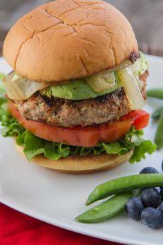 Healthy Twists on Classic Favorites: Salsa Ranch & Veggie Turkey Burgers   Hidden Valley®