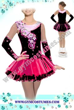Dancedress Showdance dress , Karneval Showtanzkleider Tanzmariechen Tanz Kleider Fasching Skating Dancing Kürkleid