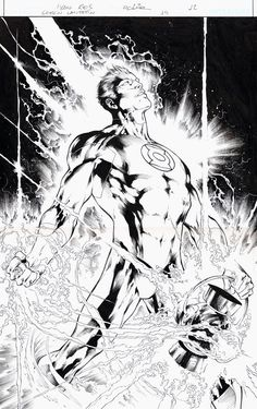 Green Lantern by Ivan Reis and Joe Prado
